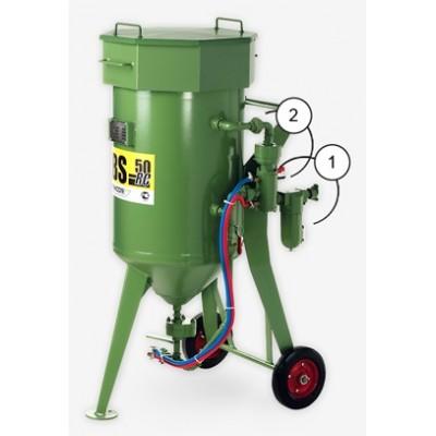 Аппарат пескоструйный Contracor DBS-25 RC (с дистанционным управлением)