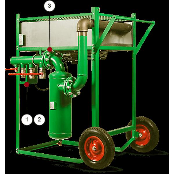 Охладитель сжатого воздуха (пневмодвигатель) Contracor ACP-2