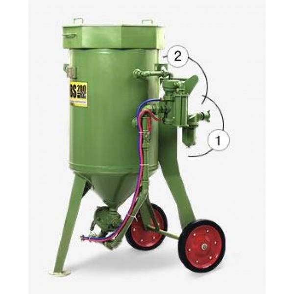 Аппарат пескоструйный Contracor DBS-100 RC