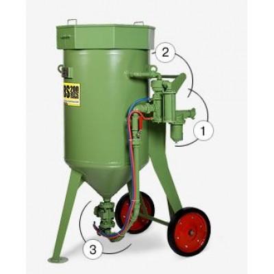 Аппарат пескоструйный Contracor DBS-100 RCS (с дистанцион. управлением и дозатором SGV)