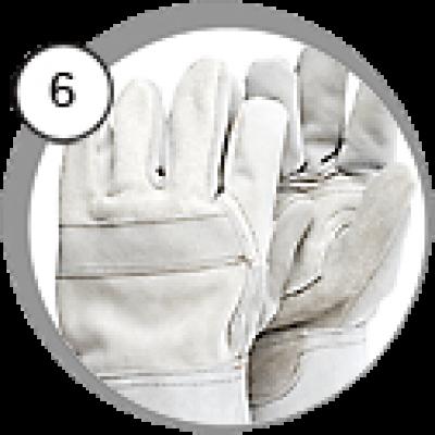Перчатки пескоструйщика Contracor профи