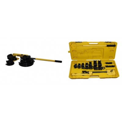 Трубогиб ручной для тонкостенной трубы ТГ-1М САТУРН (оправки от 10 до 25 мм, 25 кг, 530х205х160мм)