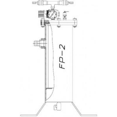 Фильтр воздушный для дыхания Vector FP-2 двухпостовой