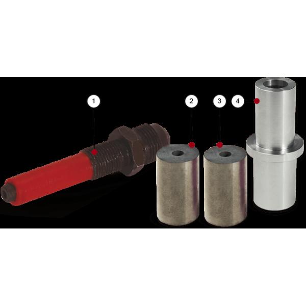Форсунка воздушная, Ø2,4 мм, универсальная для пистолетов GX/GA