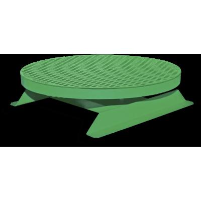 Стол поворотный, ручной, стационарный Ø500 мм